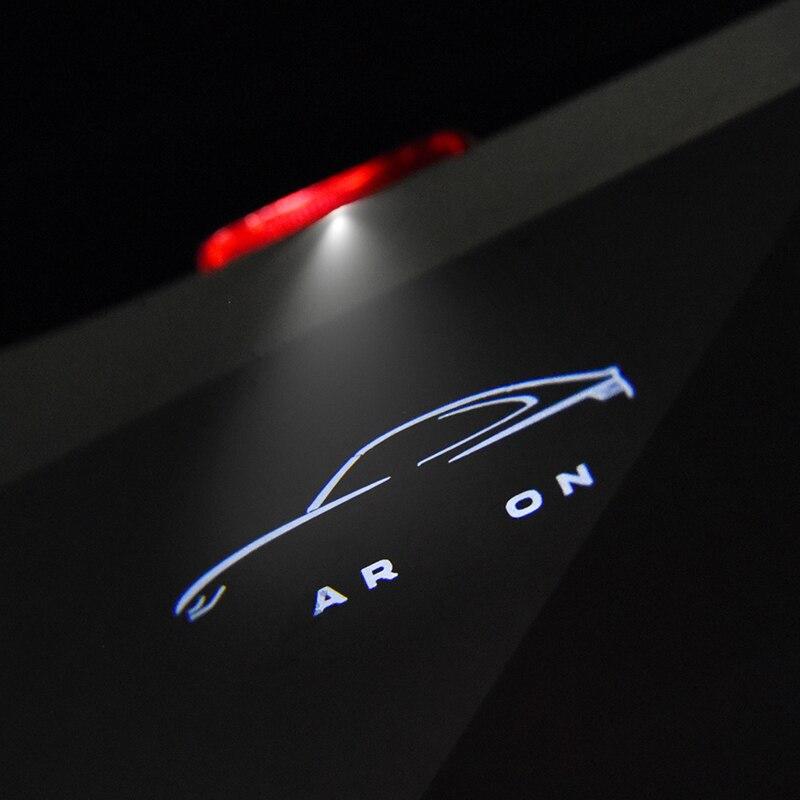 2 шт. для Arteon Rline 2017 2019 Led пригласительные огни в дверь автомобиля светильник логотип лазерный проектор лампа Ghost Shadow двери светильник аксессу...