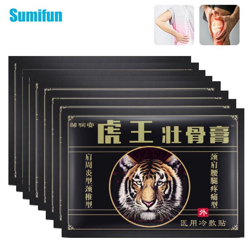 Купить 16/32 шт тигровый бальзам боли плеч с самонагревающийся браслет