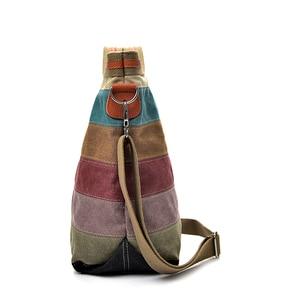 Image 2 - 2020 New Designer Brand Crossbody Bags for Women Large Messenger Bag Canvas Fashion Handbags Women Bags Bolsas Top Quality