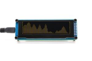 Image 2 - LINK1 OLED Music Audio Spectrum Indicator Amplifier Speed Adjustable AGC Mode 15 Level
