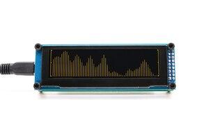 Image 2 - Link1 oled música indicador de espectro áudio amplificador velocidade ajustável agc modo 15 nível