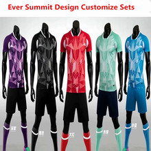 Soccer Jerseys Market M8623 Football Training Sets Blank Version Custom Design Customize Logo DIY Set Up Team Shirts 2020