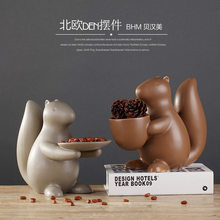 Behan Beauty Manufacturers Direct Selling European Style Household Ceramics Decoration Table Teapoy Table Fruit Bowl Creative Gi(China)