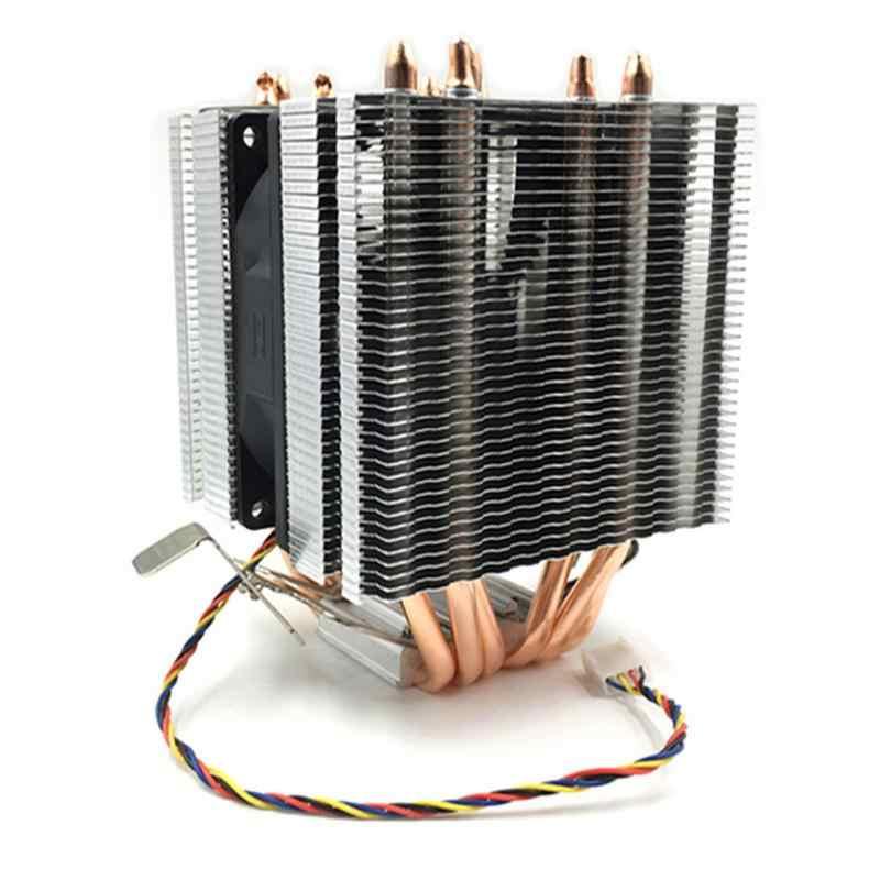 Haute Qualité refroidisseur de processeur 6 Heatpipe 3pin CPU Ventilateur De Refroidissement Pour Intel AMD LGA 775 1150 1151 1155 1156 1366 2011 AMD AM4 I3 I5 I7
