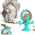 Домашнее животное кошка игрушка излучающий Еда игрушка-диспенсер 360 вращающиеся фоновые Интерактивная тренировки игра для кормления утечк...