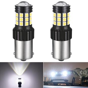 2x P21W 1156 BA15S 5630 5730 LED Bulbs Car Rear Reversing Tail Light For BMW E30 E36 E46 E34 X3 X5 E53 E70 Z3 Z4 3 5 Serie Auto image