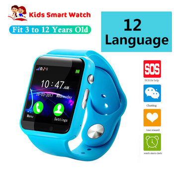 Safety Kids Smart watch For Children SmartWatch Baby Watches SOS Call Location Finder Locator Tracke