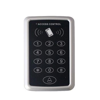 Cena promocyjna darmowa wysyłka + 6 znacznik rfid + RFID takich atrakcji jak kontrola dostępu za pomocą karty RFID EM klawiatura kontrola dostępu za pomocą karty mechanizm otwierania drzwi tanie i dobre opinie zhizaibide CN (pochodzenie) LH-KEYPAD-T11