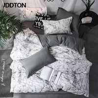 JDDTON New Arrival klasyczna dwustronna podszewki na łóżko zwięzła stylowa pościel zestaw kapa na kołdrę poszewka pokrywa łóżko 3 sztuk/zestaw BE031