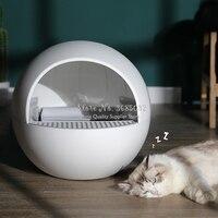 Automatic Closed Cat Litter Box Large Self Cleaning Sand Toilet Training Cat Kit Inodoro Arenero Gato Cerrado Pet Product