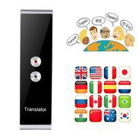 T8 tradutor de voz inteligente portátil versão de atualização em dois sentidos para aprender a reunião de negócios de viagens 3 em 1 tradutor de linguagem de voz|Tradutor| |  -