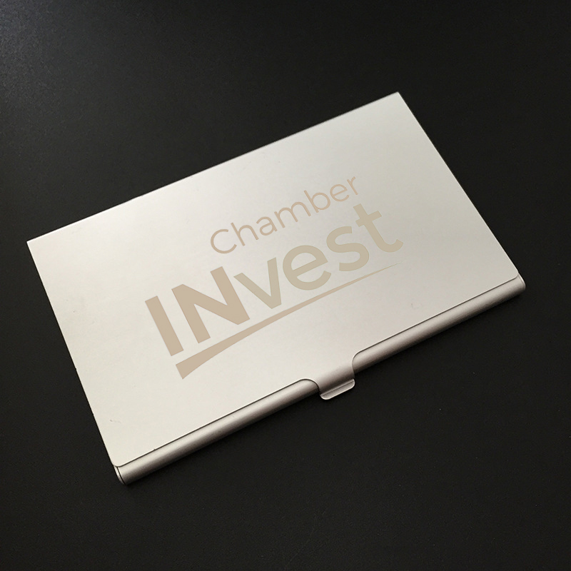 Custom Engraved Business Card Case