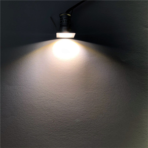 Image 5 - 9 Stks/partij DC12V 1W Mini Led Downlight Bridgelux Chip Waterdichte IP65 Led Spot Licht Led Kast Licht Nieuwe Ontwerp