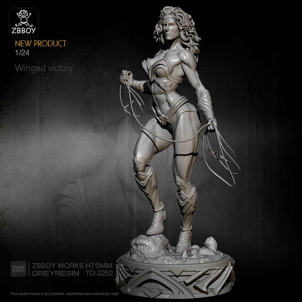 1//24 Starfire Goddess Model Self-assembled Resin Figure Kits