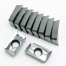 10PCS aluminum alloy tool APGT1604 G2 H01 internal turning CNC machine blade metal tools AL+TIN wood