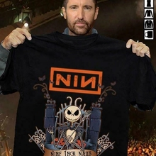 Nine Inch Nails Nin Halloween Black T Shirt