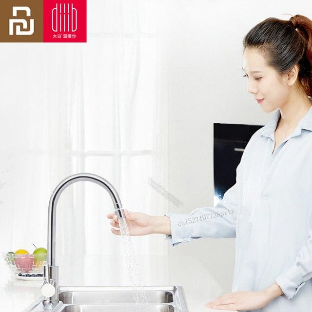 Youpin babai torneira de cozinha aerador, 2 modos, filtro de água, difusor de 360 graus, bico de economia de água, torneira, bubbler