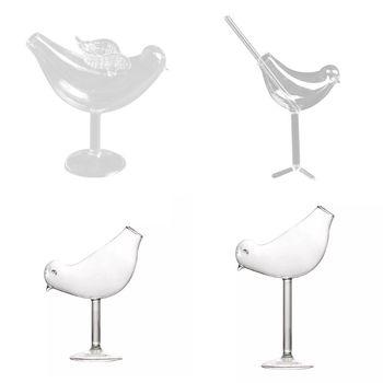 150Ml kreatywny kształt ptaka koktajl szklana czara osobowość molekularne wędzone modelowanie szkła Fantasy kielich do wina tanie i dobre opinie NoEnName_Null CN (pochodzenie) Szkło Koktajl szkła Ekologiczne Zaopatrzony 4n820