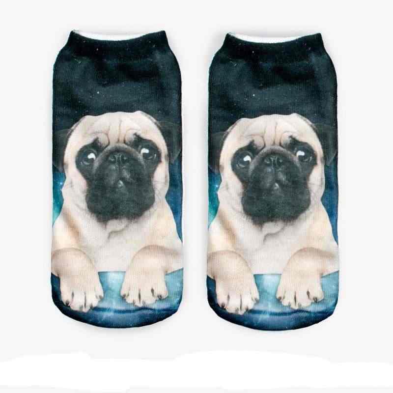 3d pembe avokado meyve karakter Unisex çorap sıcak kadın unisex çorap Polyester moda 19*8cm kadın çorap