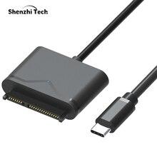 """USB 3.0 Cabo SATA SATA para USB Adaptador para 2.5 """"e 3.5"""" HDD SSD Disco Rígido Externo Conversor"""