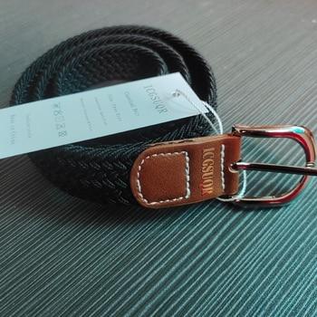 Colorful Elastic Polyester Belt for Boys 5