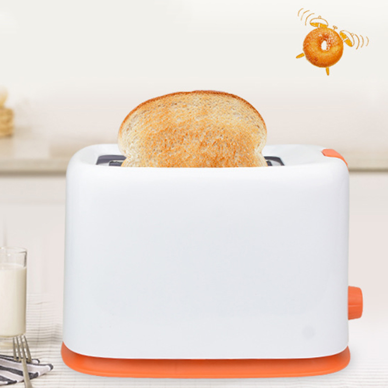 600W 220V 2 Slices 7 Gears Adjust Home Automatic Breakfast Bread Machine Toaster With Dust Cover And Cancel Function Plastic Eu in Bread Makers from Home Appliances