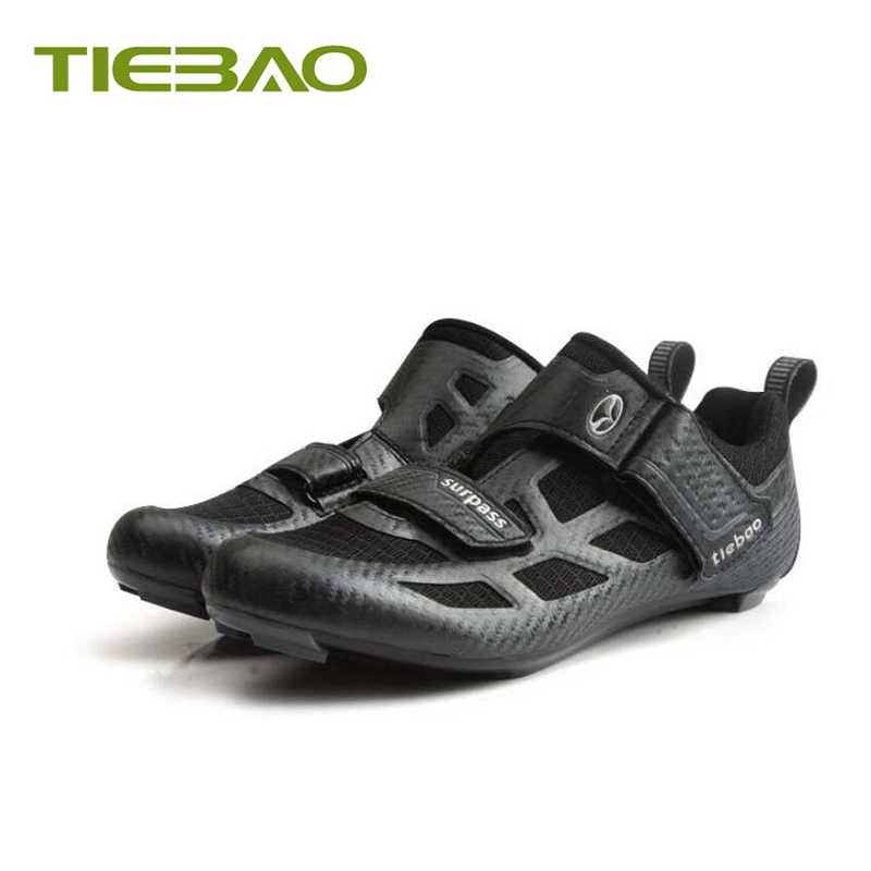 Tiebao Cycling shoes road sapatilha ciclismo 2019 men self-locking breathable bicycle superstar riding Athletic sneakers