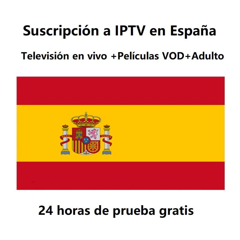 Spain IPTV Subscription Support M3U Smarters Pro Smart SSIPTV Stalker ULR For Smart TV MAG354 Android Device With DAZN Movistar