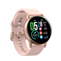 Round Touch Screen Smartwatches DTNO.1 DT88 Multiple Sports Mode Heart Rate Blood Pressure Oxygen Sleep Monitor Smart Watch 2019