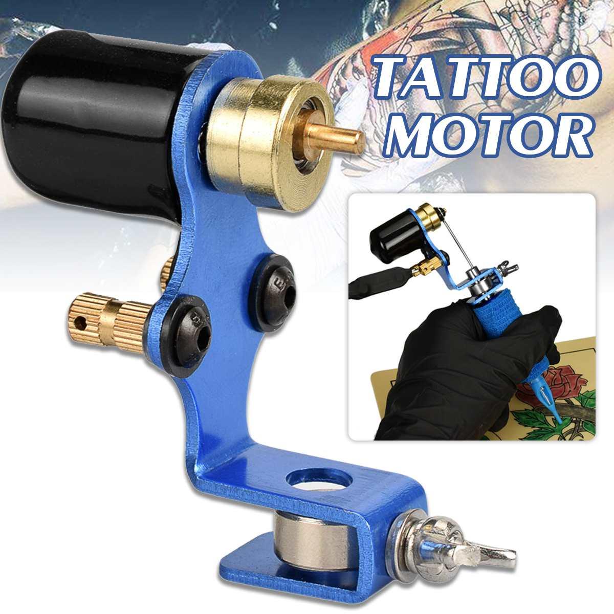 Professional Dragonfly Rotary Tattoo Machine Mini Tattoo Motor + Color Wheel Shaders Assorted Tatoo Guns Supplies For Beginner