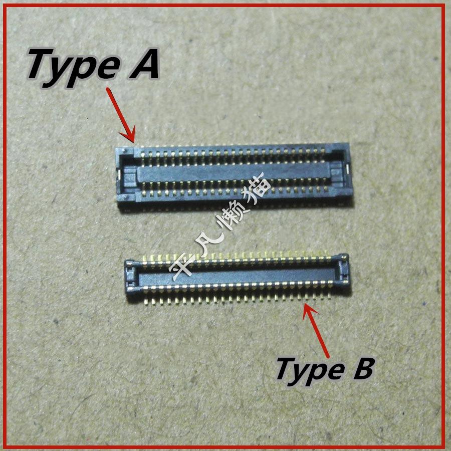 2 шт., разъем FPC A B для ноутбука и жесткого диска Asus K555L A555L x555L LD LP LI Y583L W519L R556L, разъем интерфейса жесткого диска