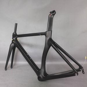 Image 4 - Produkty OEM zero zysk Aero design Ultralight 18K węgla drogowego rama rowerowa z włókna węglowego wyścigi rowerów frame700c zaakceptować malowanie