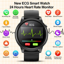 2021 smart watch ECG PPG Fitness Tracker 24 hours Heart Rate Monitor temperature weather calorie alarm clock for men women