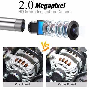 Image 3 - Lente de cámara Dual NTS500 de 5,5mm y 8mm pantalla 1080P HD 5,0, tubo LCD, cámara de inspección para automóviles, endoscopio, IP67, videoscope, kamera subacuática