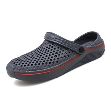 Flat Sandals Shoes Loversgarden-Shoes Crocks Beach Slippers Rubber-Clogs Hole-Hole Summer