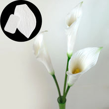 2 шт цветок pro calla Лилия и тюльпан лист вены текстуры набор