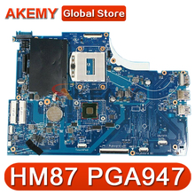Оригинальный Для HP Envy M6-N M6-n012dx 15-Q серии Материнская плата ноутбука 760289-501 760289-001 аккумулятор большой емкости HM87 PGA947 100% тестирование Быстрая д...