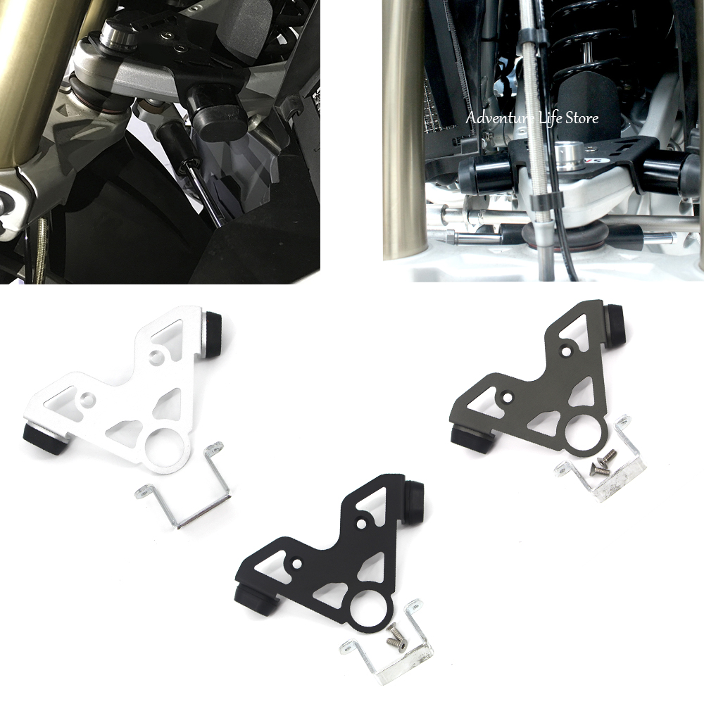 Motorcycle Steering stop directional positioner For R1200GS Oil Cooler R <font><b>1200</b></font> <font><b>GS</b></font> ADV Adventure 2005 2006 <font><b>2007</b></font> 2008 2009 2010-12 image