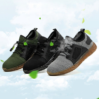 Indestructible Ryder Shoes Men And Women Steel Toe Air Safety Boots Puncture Proof Work Sneakers Breathabl Durabl Immortal Shoes
