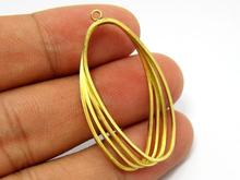 Brass twisted circle pendant 40x22mm Four brass wire oval earrings charm R525 e27 brass material socket d220mm clear glass shade fabric twisted wire cord brass material ceiling plate 100% brass pendant lamp