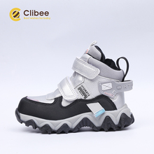 CLIBEE Children Waterproof Outdoor Snow Boots Boys Girls Sport Sneakers Terkking Boots for Hiking, Mountain Climbing, Camping