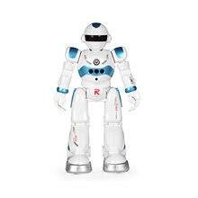 Интерактивный дизайн, робот с дистанционным управлением, Интеллектуальный робот с датчиком жестов, с музыкой и светодиодом для детей