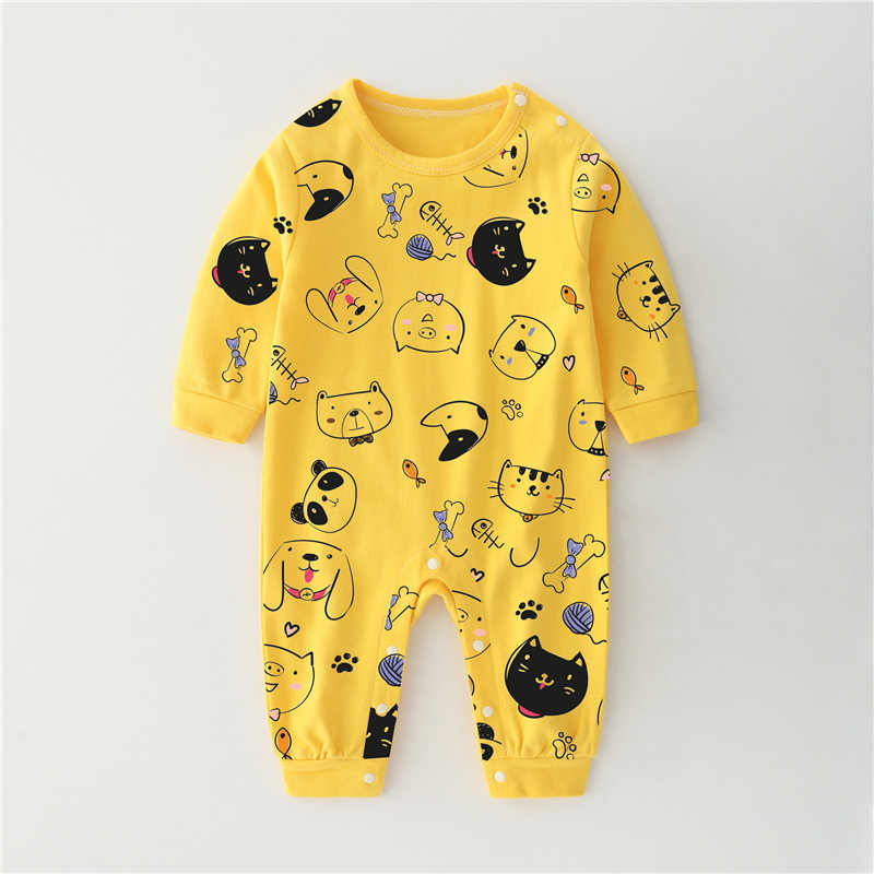 เด็กทารก Jumpsuit เสื้อผ้าเด็กใหม่เกิด Baby เด็กทารก One Piece ชุดการ์ตูน Rompers ทารกเสื้อผ้า