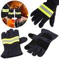 Feuer Beweis Handschuhe Tragen-Widerstand Nicht-slip Dicken Sicherheit Handschuhe 1 Paar Feuer Beständig Schutz Handschuhe Für Feuerwehrmann