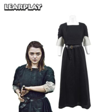 Cosplay-Costume Arya Stark Suits Outfit Dresses Role-Playing Carnival-Party Christmas