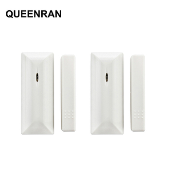 2pcs 433MHz/868MHz Wireless Door Contact Window Sensor Magnetic Contact MD-210R for Focus ST-VGT ST-IIIB Home Alarm System