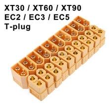 10 parejas de conectores para baterías, macho y hembra dorados, Enchufes banana dorados XT30 XT30U XT60 XT60H XT90 EC2 EC3 EC5 T para juguetes teledirigidos