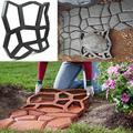 Садовые украшения «сделай сам», создание дорожек, бетонные формы, домашние Формы, дорожная форма, дорожное мощение, бетонный пол, садовый ка...