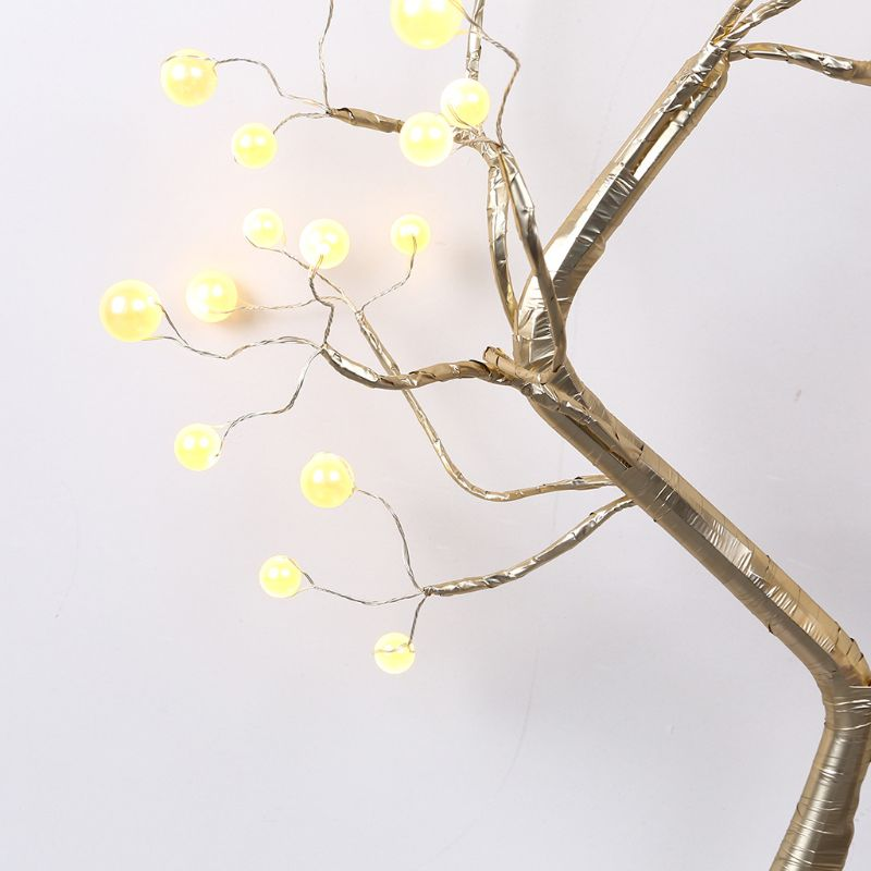 Tree Branch Desk Lamp Touch Switch Vintage Style Party Holiday Home Office Decor Y98E