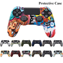 Kuulee Silicon Protection Case anti-slip for Sony PS4 Slim/Pro Controller Cover Case for Dualshock 4
